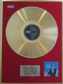 FRANK SINATRA  - 24 Carat Gold Disc LP - COME FLY WITH ME